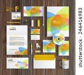creative corporate identity... | Shutterstock .eps vector #246416983