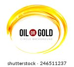 oil or gold  | Shutterstock .eps vector #246511237