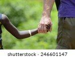 peace on earth symbol  ... | Shutterstock . vector #246601147