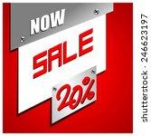 sale percent | Shutterstock .eps vector #246623197