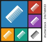 comb icon | Shutterstock .eps vector #246768433