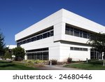 an office building with a empty ...   Shutterstock . vector #24680446