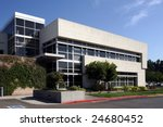 an office building with a empty ... | Shutterstock . vector #24680452