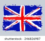 vector flag of the united... | Shutterstock .eps vector #246826987