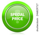 special price icon   | Shutterstock . vector #246829717