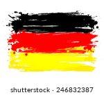 vector flag of germany. eu... | Shutterstock .eps vector #246832387