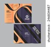 vector graphic elegant abstract ... | Shutterstock .eps vector #246834487
