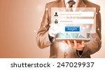 login and password | Shutterstock . vector #247029937