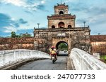 the palace gate  imperial... | Shutterstock . vector #247077733