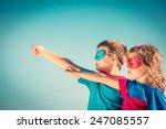 Superhero Children Against...
