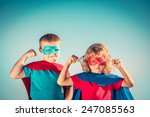 Superhero Children Against...