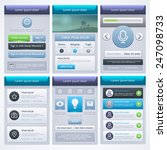 ui design. ui and ux kit for...