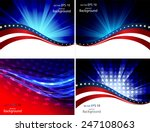abstraction on a theme of the... | Shutterstock .eps vector #247108063