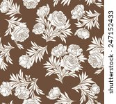 floral seamless background.... | Shutterstock .eps vector #247152433