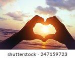 love on the beach | Shutterstock . vector #247159723