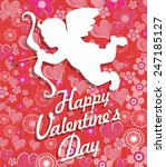 valentine day background | Shutterstock .eps vector #247185127