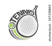 vector illustration of the logo ... | Shutterstock .eps vector #247198843