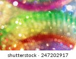 soft rainbow circles background ... | Shutterstock . vector #247202917
