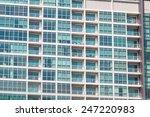 contemporary condominiums... | Shutterstock . vector #247220983