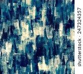 chalk blue brush strokes... | Shutterstock . vector #247324357