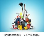 sports equipment | Shutterstock . vector #247415083