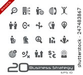 icons set of business strategy... | Shutterstock .eps vector #247483867
