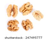 walnuts high key    studio... | Shutterstock . vector #247495777