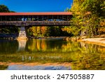 the saco river covered bridge...