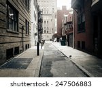 Alley In Center City ...