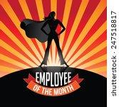 employee of the month burst eps ... | Shutterstock .eps vector #247518817
