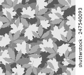 foliage camouflage seamless... | Shutterstock .eps vector #247540093