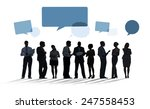 business collaboration... | Shutterstock . vector #247558453