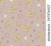 floral seamless pattern. | Shutterstock .eps vector #247576327