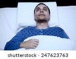 Portrait Of An Insomniac Man...