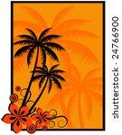 palm   Shutterstock .eps vector #24766900