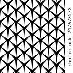 black and white seamless... | Shutterstock .eps vector #247678573