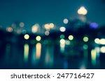 abstract urban night light... | Shutterstock . vector #247716427
