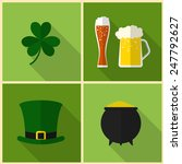 saint patrick's day. modern... | Shutterstock .eps vector #247792627