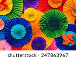 Background Paper With Colorful...