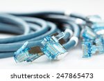 Network Cable With Rj45...