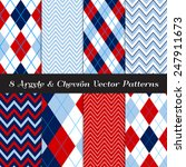 navy  blue  red and white... | Shutterstock .eps vector #247911673