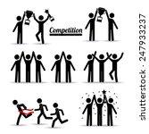 competition design over white... | Shutterstock .eps vector #247933237