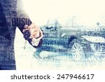 abstract background. auto... | Shutterstock . vector #247946617