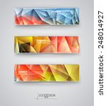 business design templates. set... | Shutterstock .eps vector #248014927
