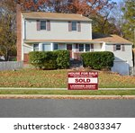 real estate sold  another... | Shutterstock . vector #248033347
