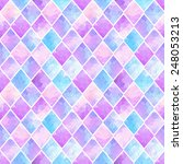 seamless pattern of colorful... | Shutterstock .eps vector #248053213