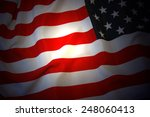 us flag | Shutterstock . vector #248060413