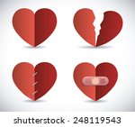 love poster design  vector... | Shutterstock .eps vector #248119543