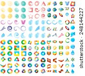 mega  vector logo design...   Shutterstock .eps vector #248144227