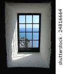 A Window In A Light House Whic...